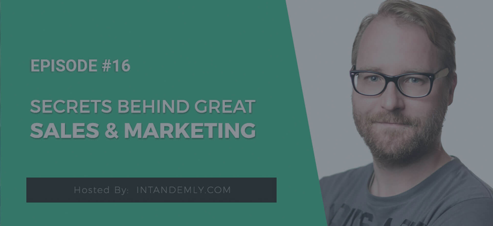 Secrets Behind Great Sales and Marketing with Hans van Gent